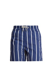 Solid And Striped Classic Swim Shorts Navy