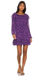 Free People These Dreams Mini Dress In Purple. Violet