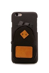 Forever 21 Backpack Case For Iphone 6 6S Black Brown