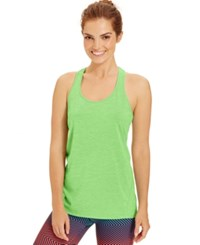 Ideology Essential Racerback Performance Tank Top Green Juice