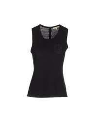 Gigue Sleeveless Sweaters Black