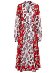 Dodo Bar Or Combo Paisley Harrison Shirt Dress Multi