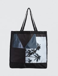 Black Scale Landscape Tote Bag