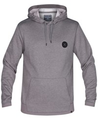 Hurley Men's Disperse Pullover Hoodie Heather Grey