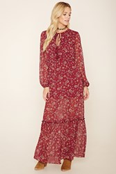 Forever 21 Paisley Print Maxi Dress