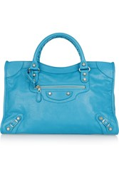 Balenciaga City Textured Leather Tote