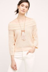Anthropologie Gatienne Top Pink