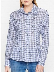 Vivienne Westwood Anglomania Ringstead Gingham Shirt Blue