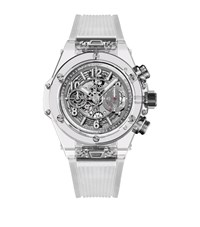 Hublot Big Bang Unico Sapphire Watch Unisex Clear