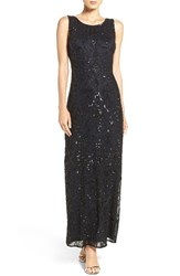 Pisarro Nights Women's Embellished Mesh Dress