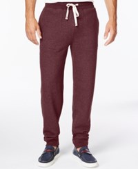 Tommy Hilfiger Hancock Drawstring Sweatpants Deep Burgandy