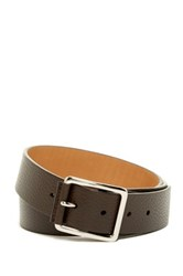 Cole Haan Pebble Leather Belt Brown