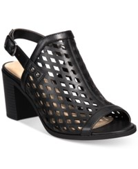 Easy Street Shoes Erin Slingback Sandals Women's Black