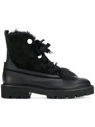 Kennel Schmenger And Chunky Heel Boots Black