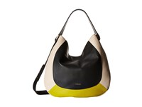 Furla Luna Medium Hobo Onyx Jade Conchiglia