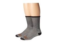 Timberland Tps31408 Crew 2 Pair Pack Black Men's Crew Cut Socks Shoes