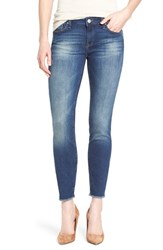 Women's Mavi Jeans 'Adriana' Stretch Ankle Skinny Jeans Dark Used