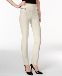 Styleandco. Style And Co. Skinny Leg Pull On Pants Stonewall