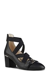 Nine West Women's Andrew Pump Black Leather