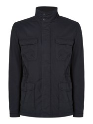 Criminal Quentin Casual Field Jacket Navy