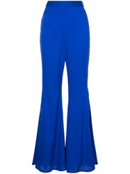 Ellery Classic High Waisted Trousers Blue