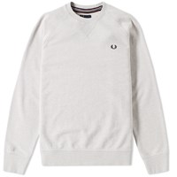 Fred Perry Loopback Crew Sweat Neutrals