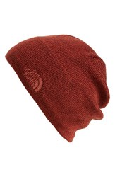 The North Face Men's 'Jim' Beanie Red Sequoia Red Brick House Red