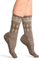 Smartwool Women's Lacet Crew Socks Taupe