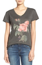 Wildfox Couture Women's Wildfox 'Claire' Graphic V Neck Tee