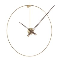 Nomon Anda Wall Clock Walnut