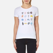 Barbour Women's Coral T Shirt White
