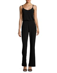 Laundry By Shelli Segal Blouson Flared Leg Jumpsuit Black