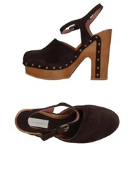 L'autre Chose L' Autre Mules Dark Brown