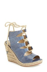 Johnston And Murphy Women's Mandy Perforated Wedge Sandal