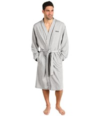 Hugo Boss Innovation 1 Cotton Kimono Robe Grey Men's Robe Gray