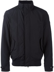 Woolrich Padded Bomber Jacket Blue