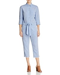 Dl1961 Watermill Chambray Jumpsuit Bright Blue