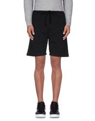 Suit Trousers Bermuda Shorts Men Black
