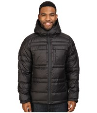 Nau Drop Down Hoodie Jacket Caviar Men's Coat Black
