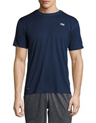 Helly Hansen Baselayer Utility Tee Evening Blue