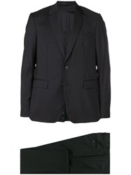 Mauro Grifoni Slim Fitted Suit Black