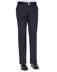 Etro Pin Dot Jacquard Evening Pants Black
