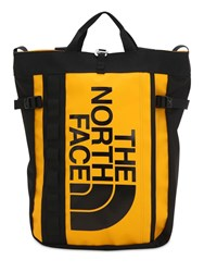 The North Face Base Camp Nylon Blend Tote Yellow