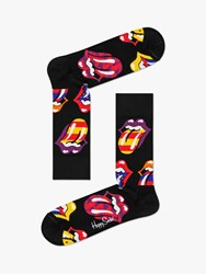 Happy Socks Rolling Stones One Size Black