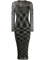 Missoni Sequin Embellished Dress Black
