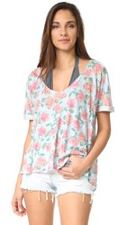 Wildfox Couture Dusty Rose Tee Multi