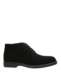 Bass Plano Suede Chukka Boots Black