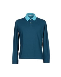 Heritage Topwear Polo Shirts Men Deep Jade