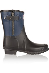 Rag And Bone Hunter Rubber Ankle Boots Blue