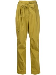 Luisa Cerano Belted Cargo Trousers 60